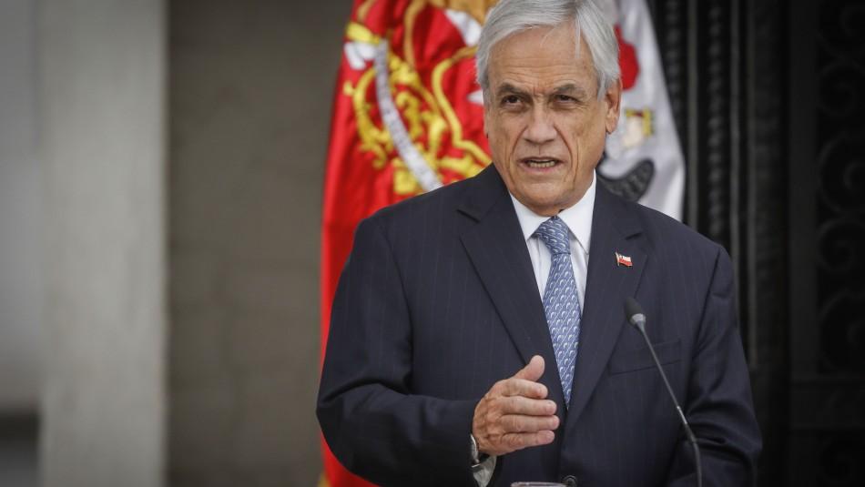 Bono Covid-19: Presidente Piñera llama al Congreso a trabajar con urgencia para aprobar beneficio
