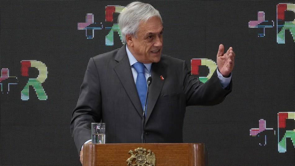 Piñera tras rechazo de proyecto de protección al empleo: