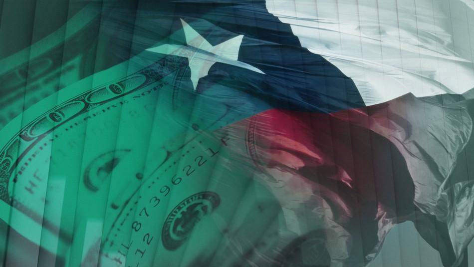 Dólar cierra con alza de $7 y llega a su segundo valor más alto en la historia