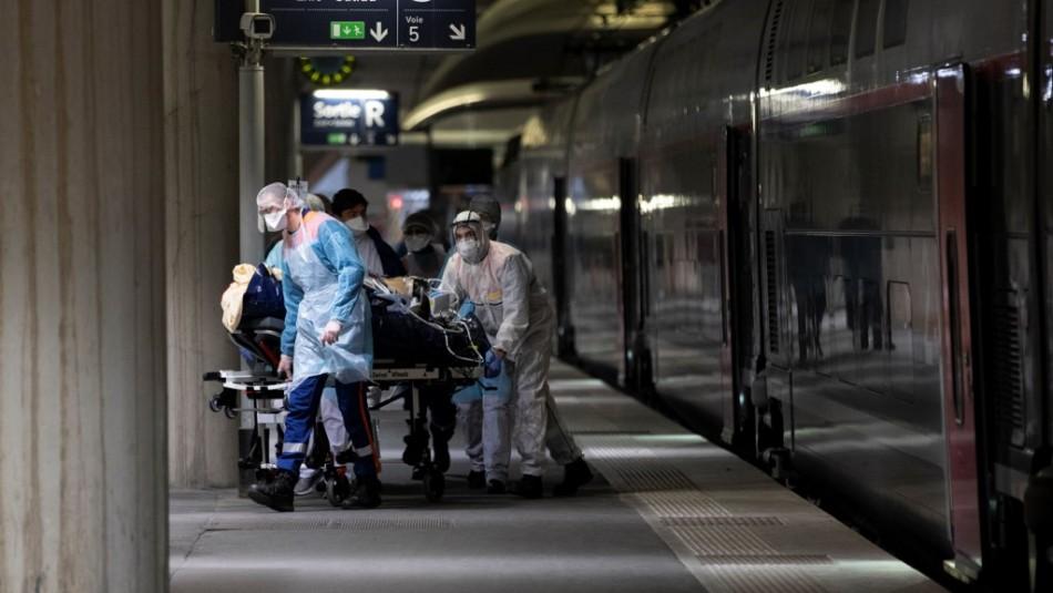 Francia supera las 4 mil muertes en hospitales por coronavirus con 509 decesos en un día