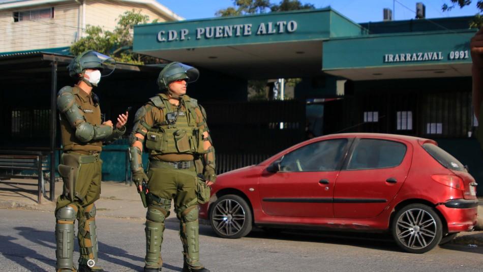 Confirman nuevos casos de coronavirus en reos de cárcel de Puente Alto