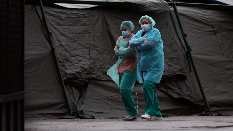 España registra 864 fallecimientos, nueva cifra máxima diaria de muertes por coronavirus