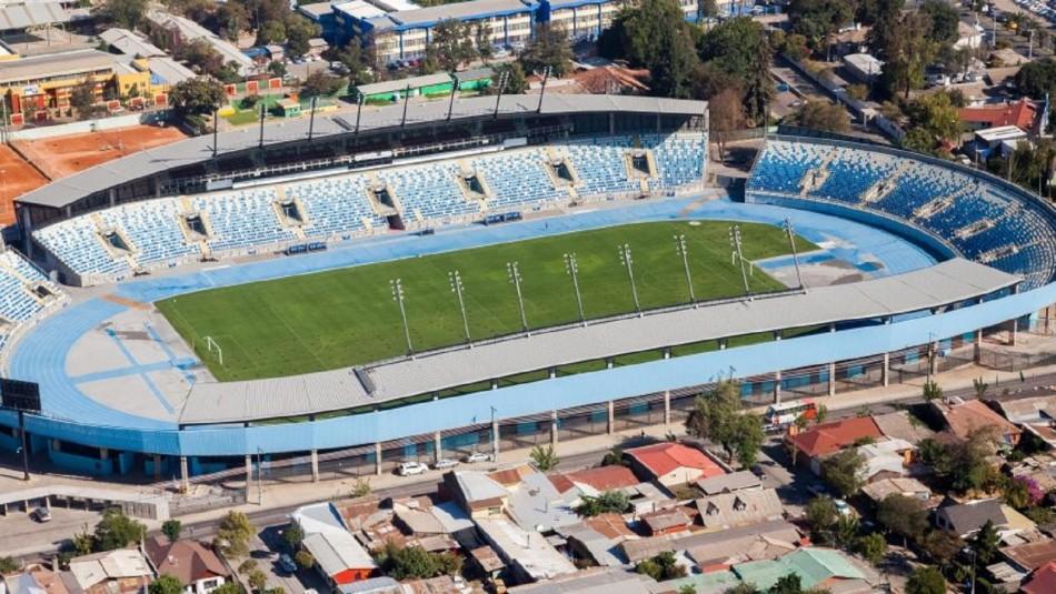 Estadio El Teniente será hospital de campaña.