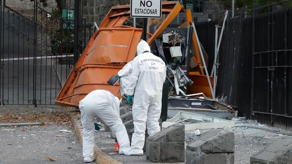 Detonación de cajero automático provocó estruendo percibido en varias comunas de Santiago