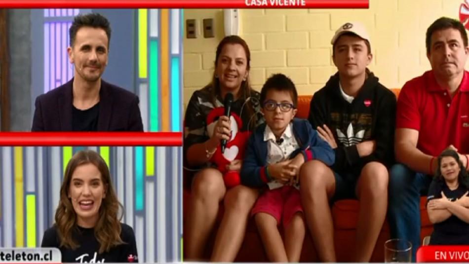 Así luce Vicente Jopia: El niño embajador de la Teletón 2016 que enamoró a todos con su dulzura