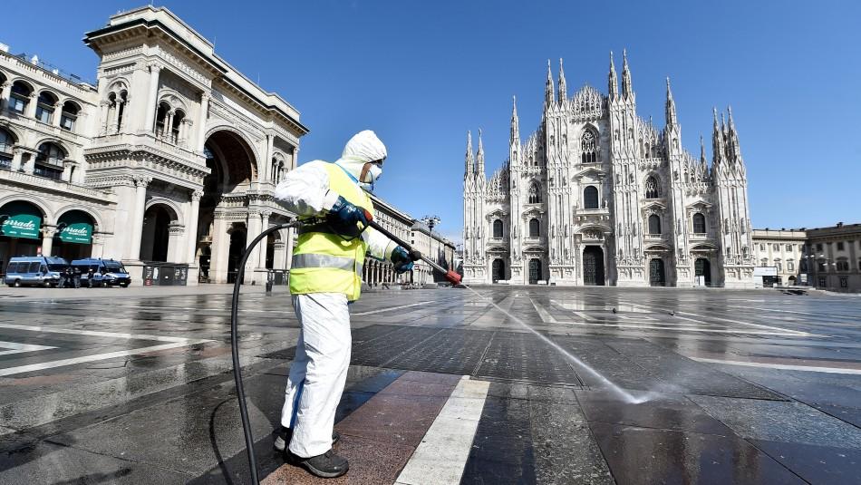 Italia registra 525 muertes en las últimas 24 horas: La cifra más baja en dos semanas