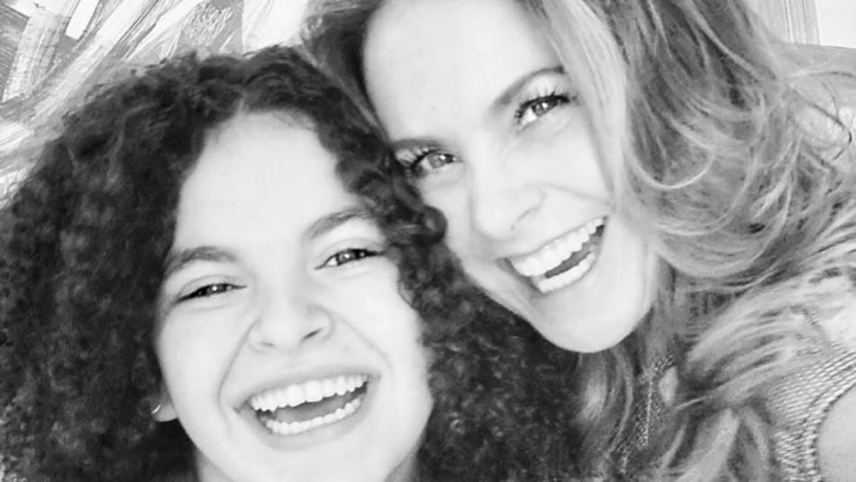 Lucerito y su hija se parecen más de lo que crees: Fotografía es la prueba
