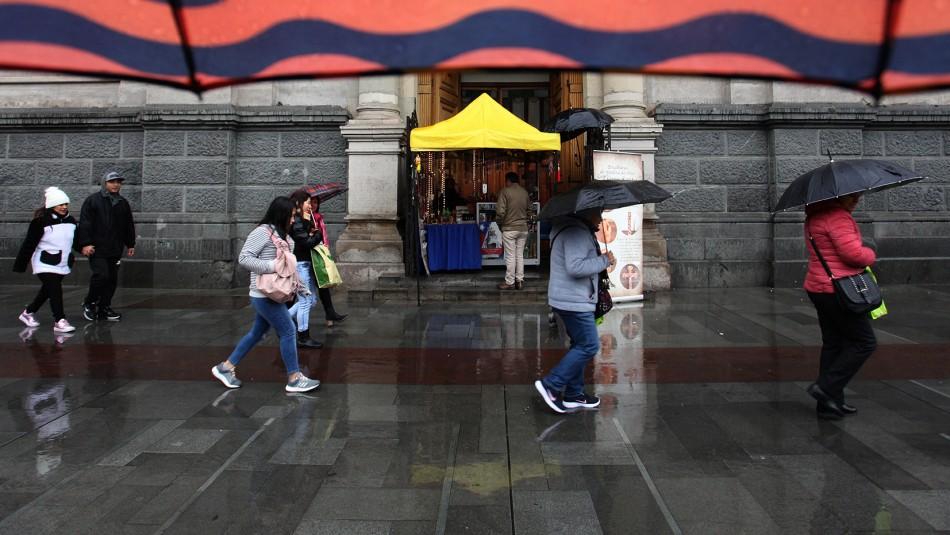 Anuncian posibles precipitaciones durante este fin de semana en Santiago