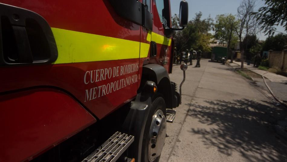 Bomberos Metropolitano Sur informa que dos voluntarios dieron positivo a examen de coronavirus