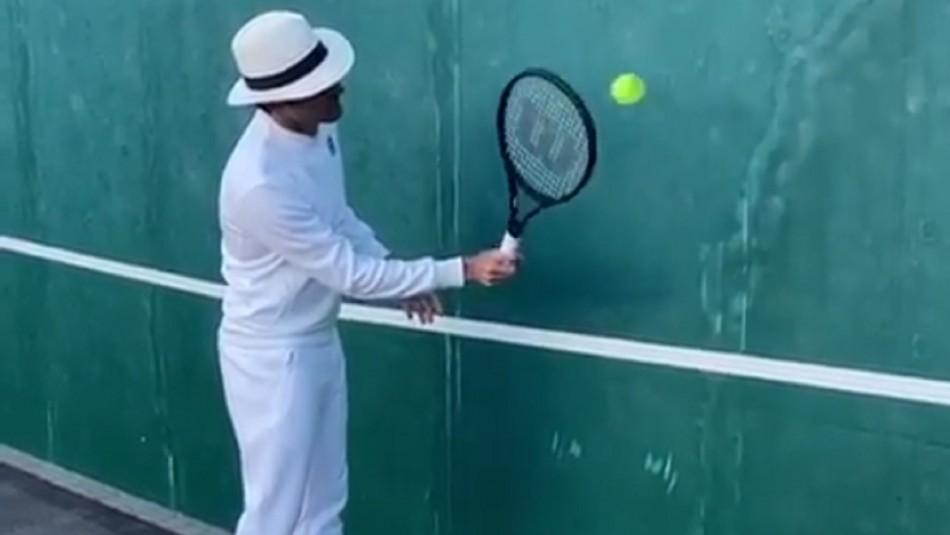 El desafío planteado por Roger Federer.