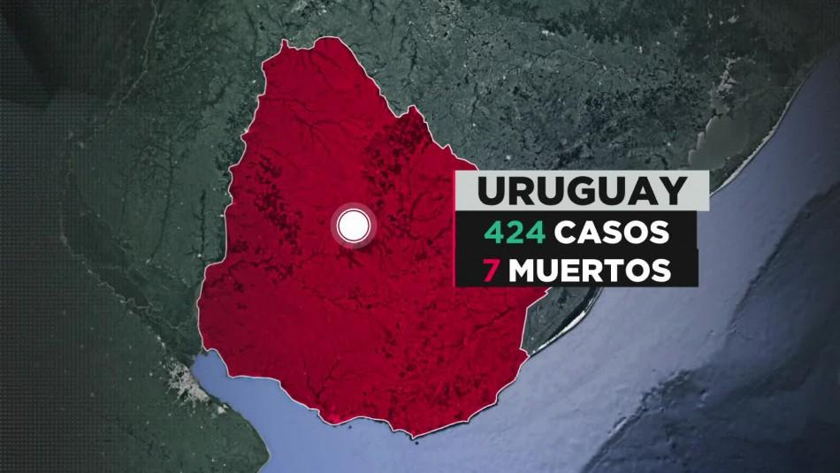 COVID-19 en Uruguay: Autorizan vuelo humanitario para evacuar crucero