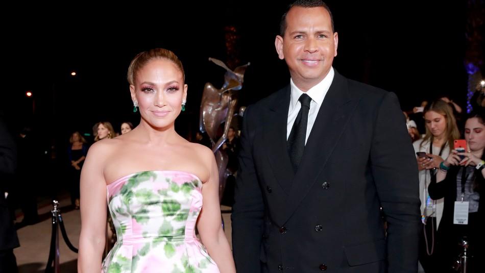 Jennifer Lopez suspendió su boda con Alex Rodríguez por el coronavirus: