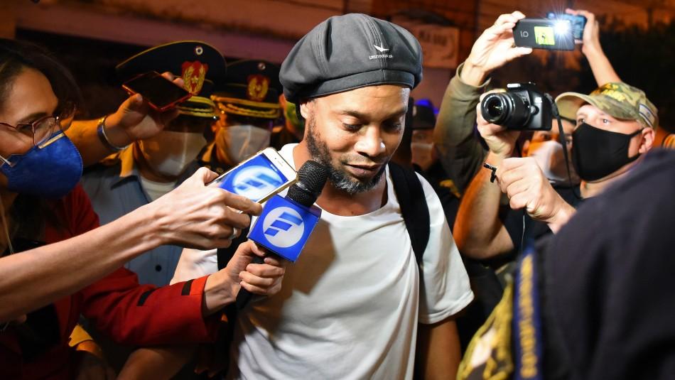 Locura por lograr una reserva en exclusivo hotel donde Ronaldinho cumplirá prisión preventiva
