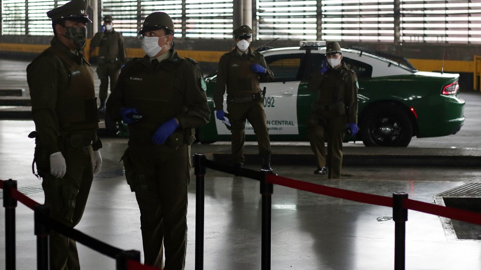Detienen en terminal San Borja a sujeto de 27 años con coronavirus que pretendía viajar al sur