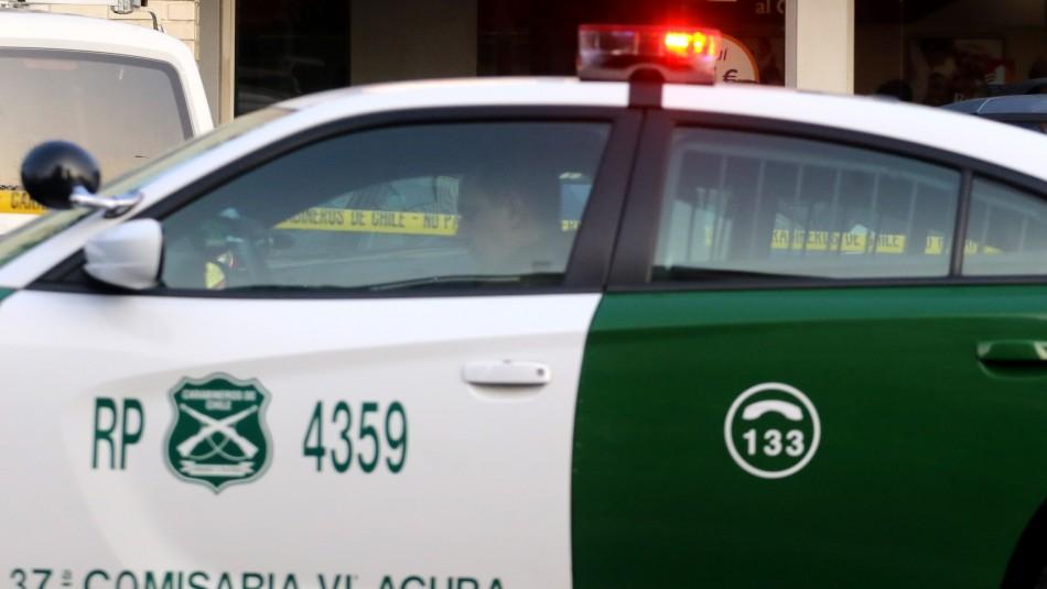 Secuestran por más de dos horas a conductor de camión en Maipú: Carabineros detuvo a siete sujetos