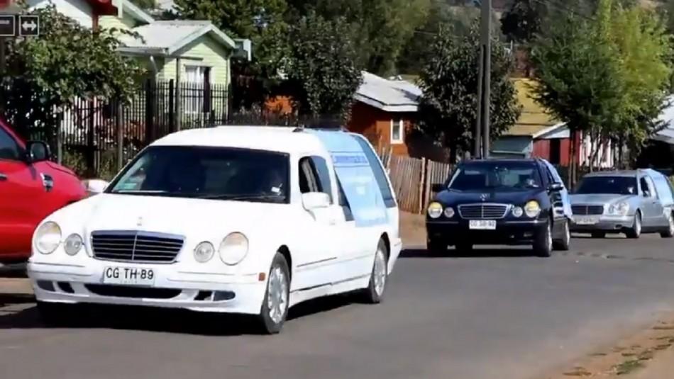 Municipalidad de Traiguén busca concientizar sobre el COVID-19 con actividad que incluye carrozas fúnebres
