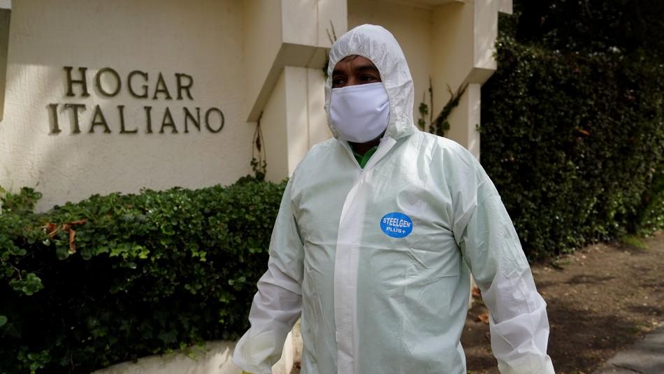 Contagio en hogar de ancianos de Ñuñoa: Ministro de Salud informa de siete personas hospitalizadas