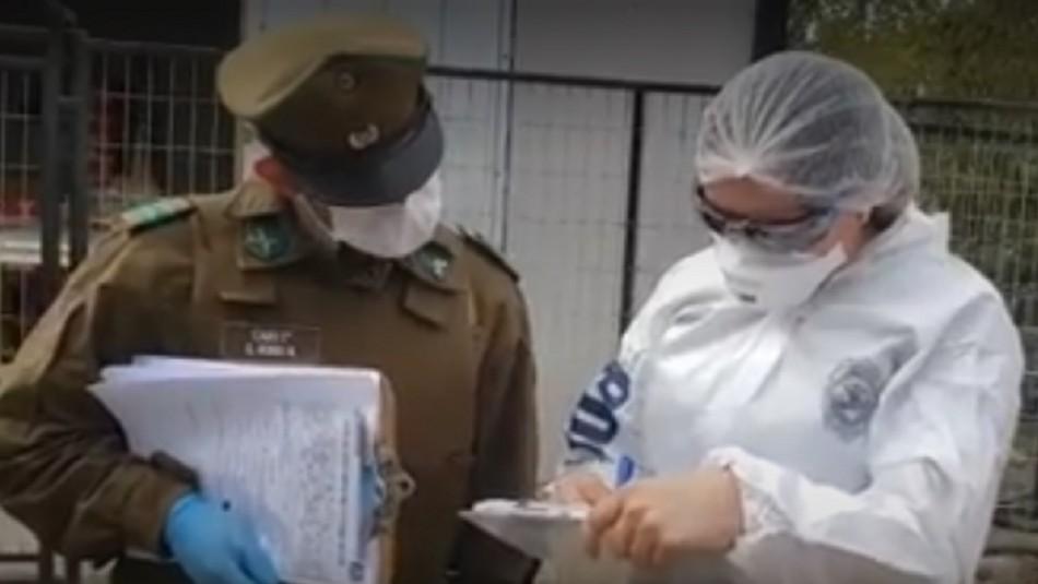 Policía investiga femicidio ocurrido en la comuna de Navidad durante el toque de queda