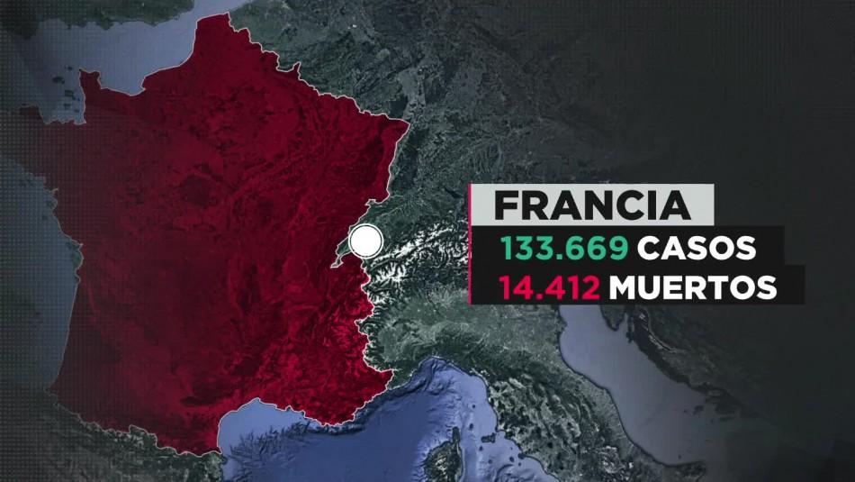 COVID-19 en Francia: 50 casos de coronavirus en portaaviones nuclear