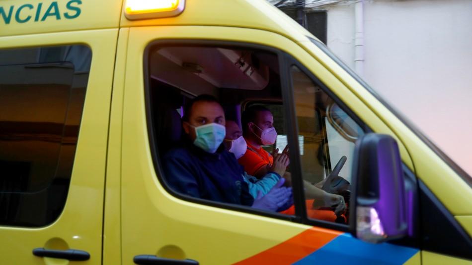 España vuelve a bajar cifra de muertos diarios por coronavirus reportando 517 decesos