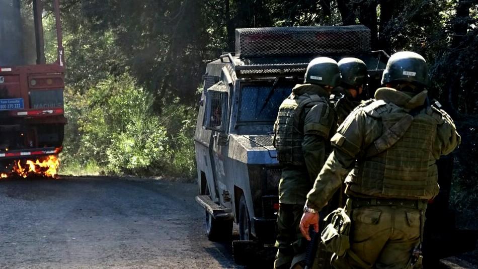 Gobierno anuncia querella por ley antiterrorista por ataque explosivo en Tirúa: Confirman uso de auto bomba