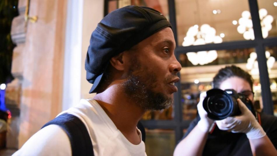 La tristeza de Ronaldinho: No puede recibir visitas en su arresto domiciliario debido al Covid-19
