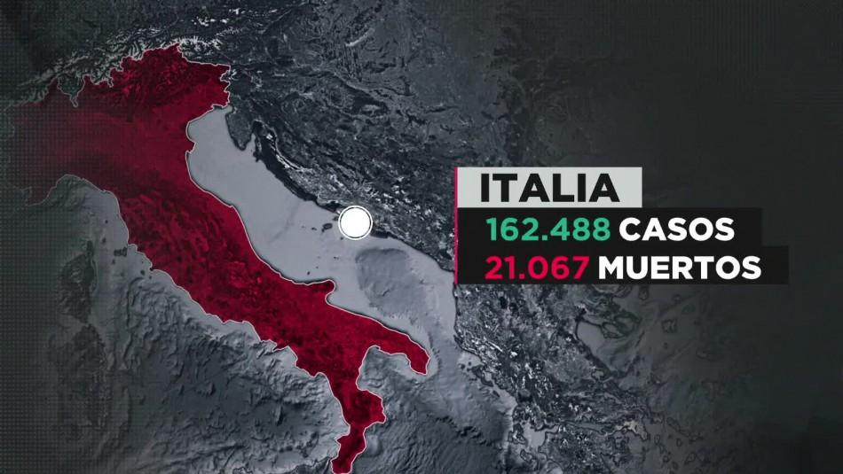 COVID-19 en Italia: Reabre parte del comercio no esencial