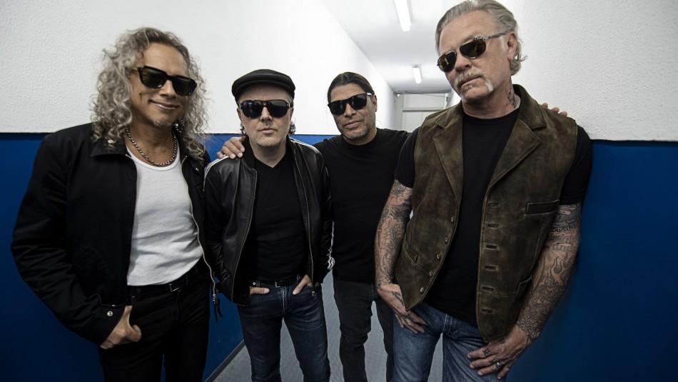 Metallica lanza material en vivo exclusivo para sus seguidores en Chile