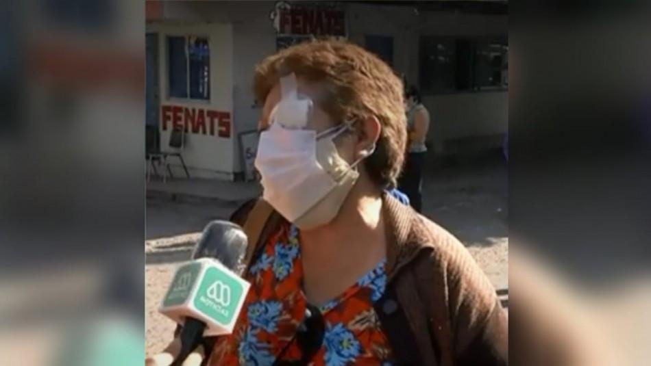 El indignado reclamo de madre por filas en hospital Félix Bulnes: