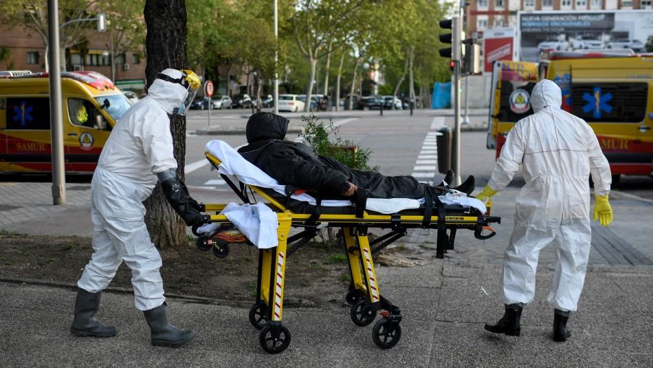 España reporta descenso en balance diario de muertes por coronavirus
