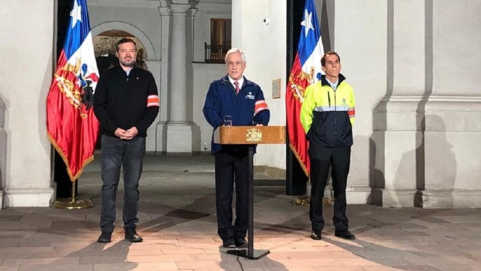 Presidente Piñera adelanta Plan de Invierno para ayudar a personas en situación de calle