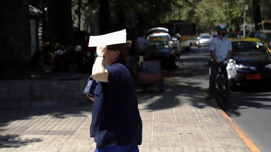 El paulatino aumento de temperaturas que experimentará Santiago hasta el viernes