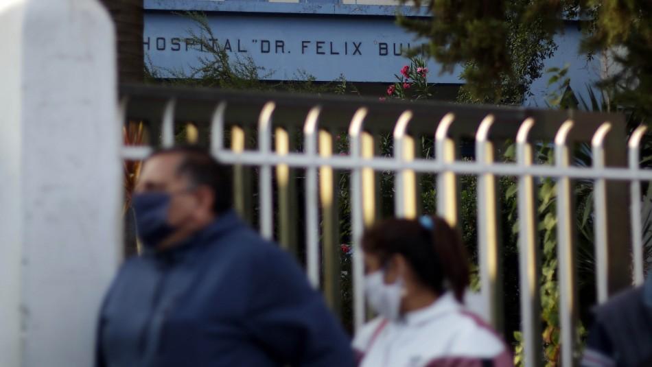 Subdirector del Félix Bulnes por filas:
