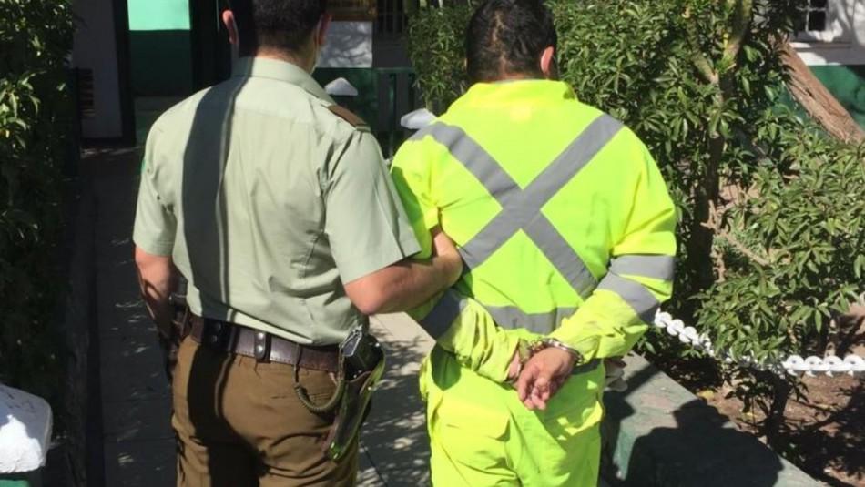 Detienen a presunto secuestrador de joven en Antofagasta