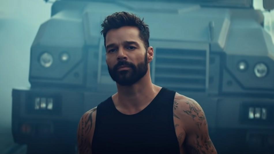 Desde el garage: Ricky Martin graba video de