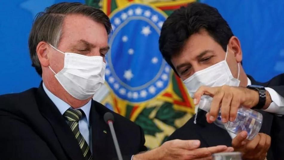 Jair Bolsonaro destituye al Ministro de Salud de Brasil en plena pandemia de coronavirus