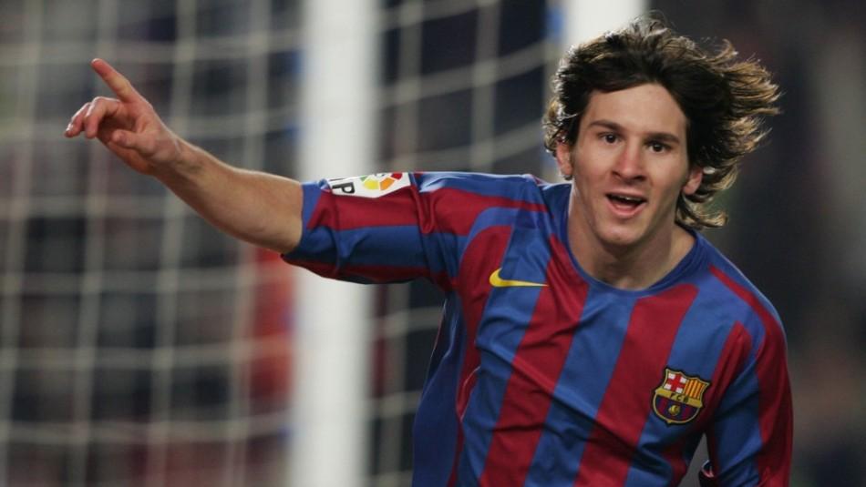 El particular primer contrato que firmó Lionel Messi cuando fichó en el Barcelona