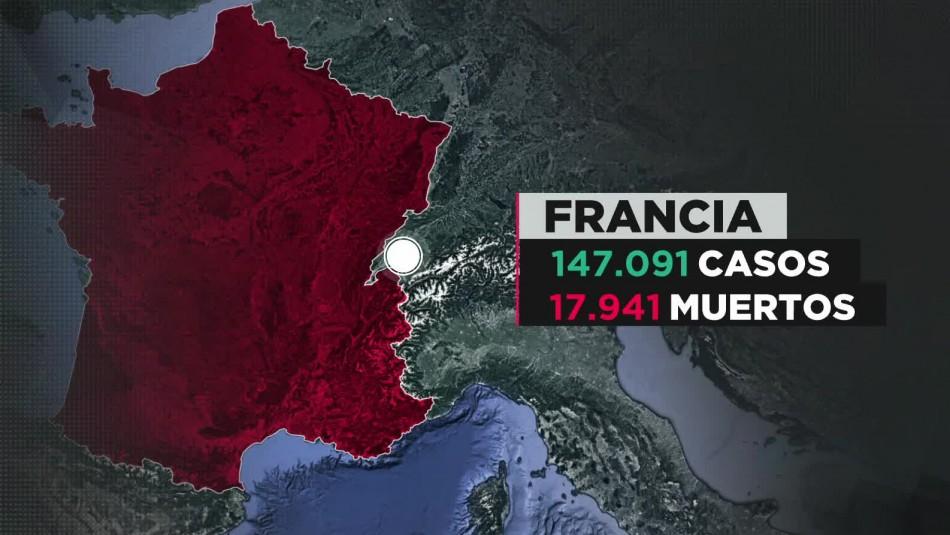 Coronavirus en Francia: 688 tripulantes contagiados en portaaviones nuclear Charles de Gaulle