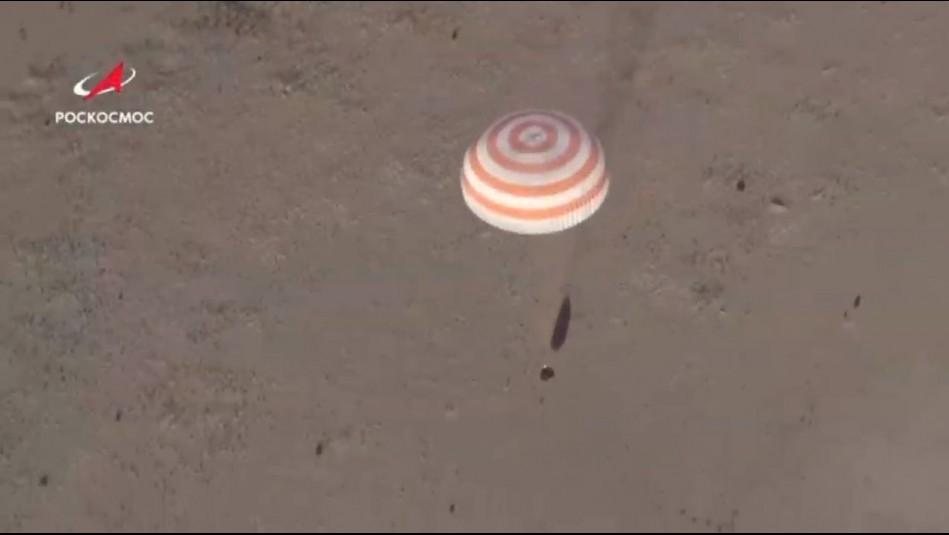 Tripulación de la Estación Espacial regresó a la Tierra en plena pandemia