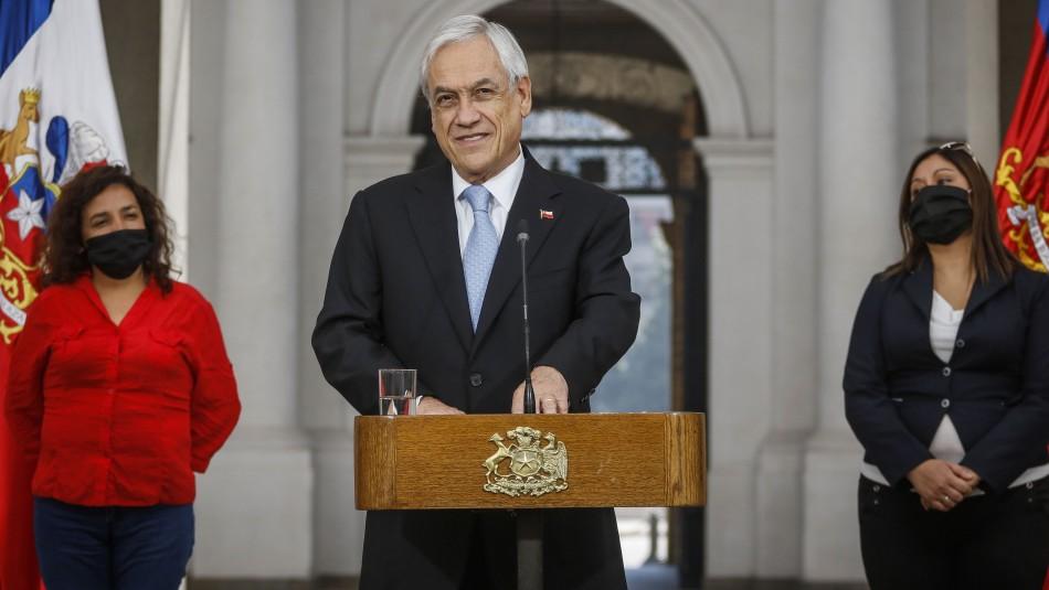 Piñera e inicio de pago de Bono Covid-19:
