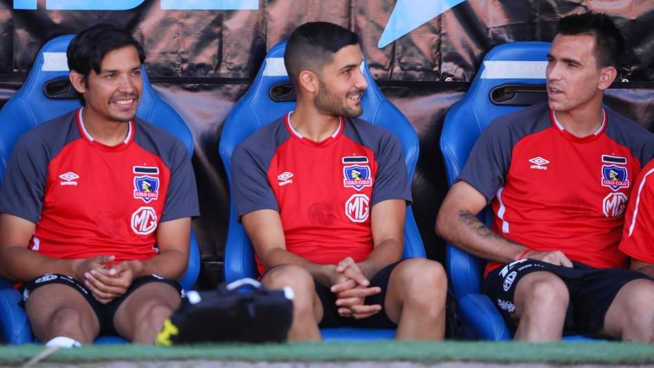 Pablo Mouche relata su amistad con Blandi en Colo Colo.