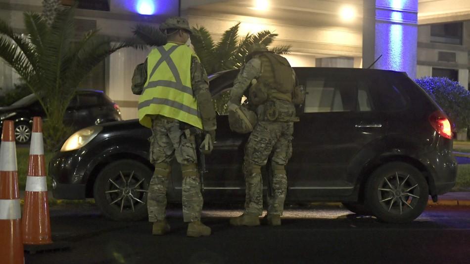 Carabineros informó que se registraron 582 detenciones por no respetar el toque de queda