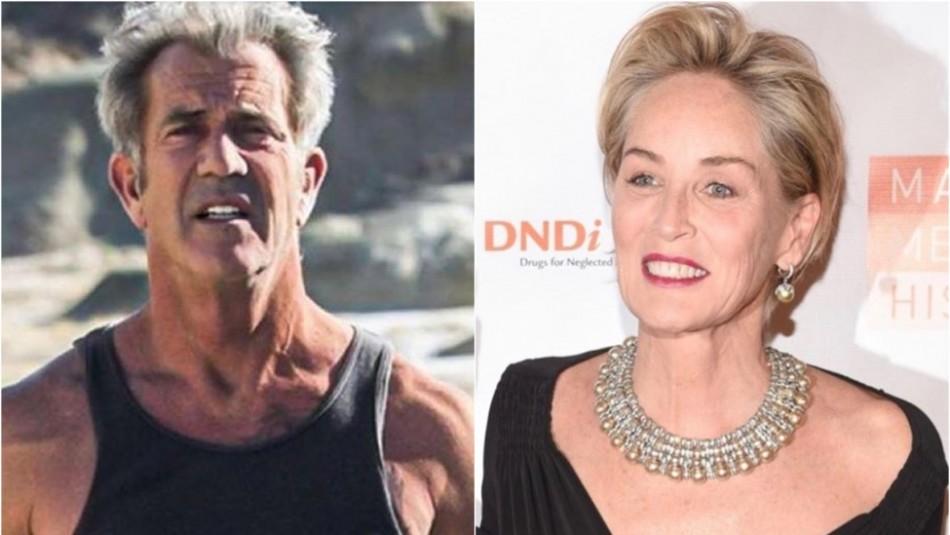 Sharon Stone destapa otra polémica de Mel Gibson: Dijo que era