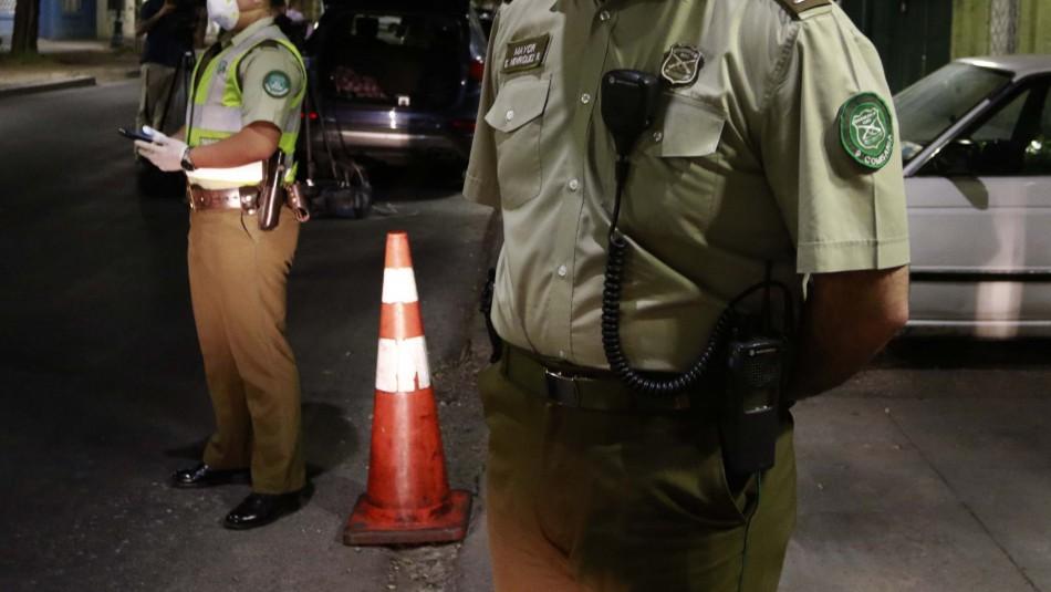 Carabineros clausura tres locales clandestinos que violaban toque de queda en Quilicura
