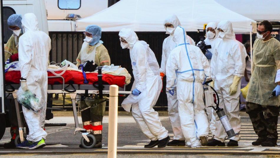 Reino Unido registra 596 muertes en 24 horas y supera 16.000 decesos por COVID-19