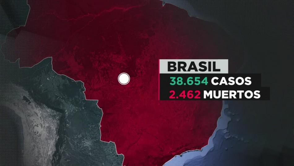 Coronavirus en Brasil: Bolsonaro llama a protestas anti-confinamiento