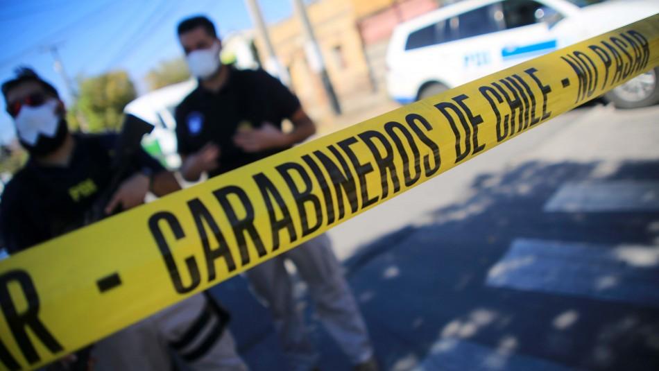 Carabinero es atropellado por conductor que intentó evadir un control policial en Quilicura