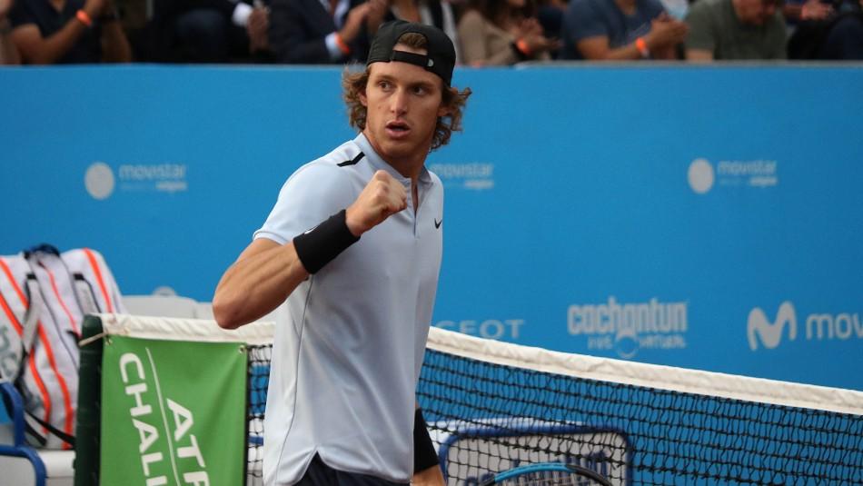 Nicolás Jarry apunta a error generado en laboratorio que provocó su sanción por doping