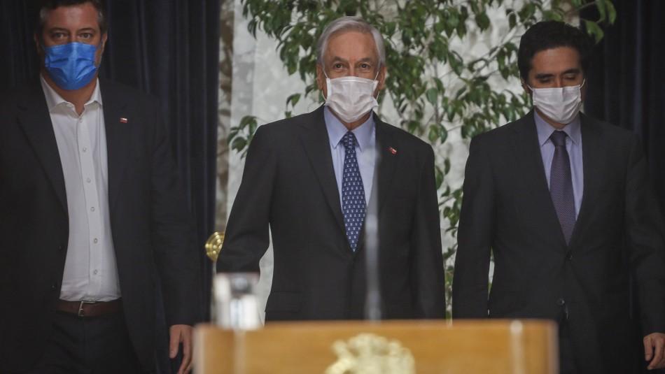 Piñera anuncia proyecto de ingreso familiar de emergencia para hogares vulnerables con ingresos informales