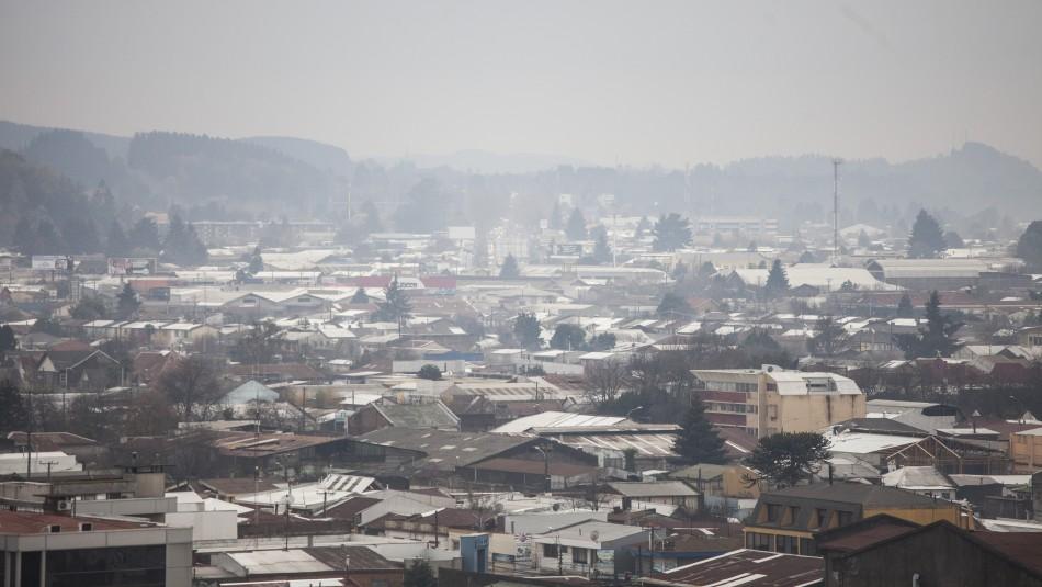 Decretan primera preemergencia ambiental del año en La Araucanía
